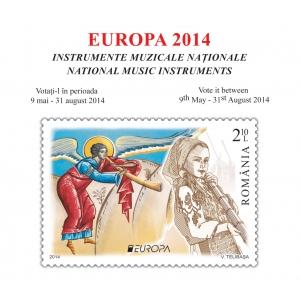 Deschiderea secţiunii de votare pentru concursul EUROPA 2014