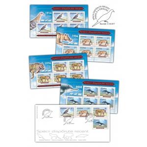 timbre. Descoperă pe timbre românești specii dispărute recent