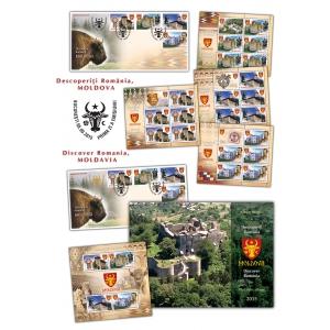 ruginoasa. Descoperă tărâmul unic al Moldovei pe timbrele românești