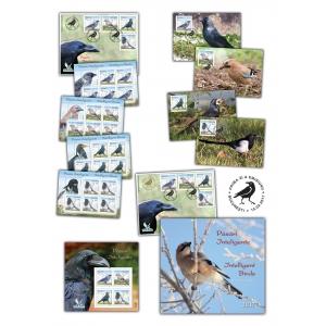 filatelice. Din seria curiozităților filatelice: timbrele românești și păsările inteligente