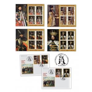 Domnitori români în pictură