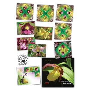 Frumusețea florilor rare pe timbre: orhidee sălbatice din România