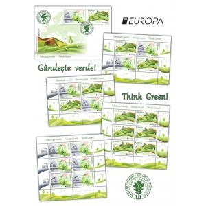 Verde. Marca poștală militează pentru o planetă verde