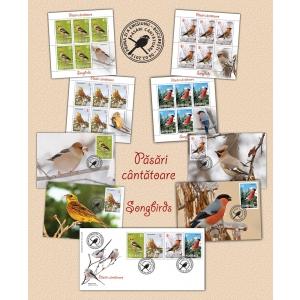 botgros. Marca poştală românească te invită în universul păsărilor cântătoare