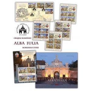 castru. Mărcile poștale românești te invită în orașul – cetate Alba Iulia