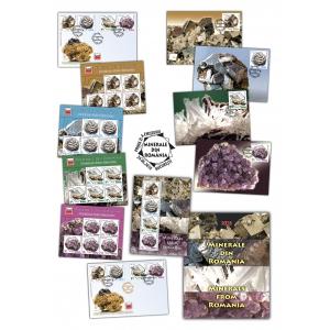 Marcile postale Minerale din România- exponate unicat din patrimoniul Muzeului Județean de Mineralogie