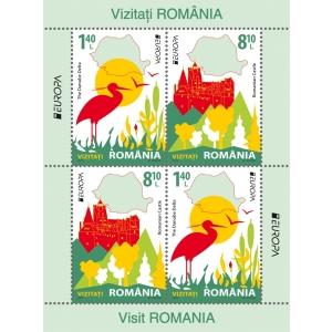 Europa 2012. În 2012, Romfilatelia vă invită să VIZITAȚI ROMÂNIA