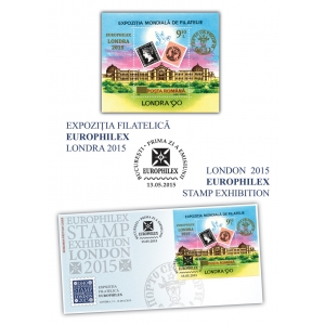 europhilex. Romfilatelia celebrează 175 de ani de la apariţia primului timbru din lume - Expoziţia Filatelică EUROPHILEX Londra 2015