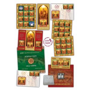 Romfilatelia: mărci poștale cu ocazia Sfintelor Paști 2018