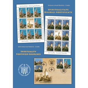 filatelie. Simboluri ecleziastice româno – croate ilustrate în filatelie