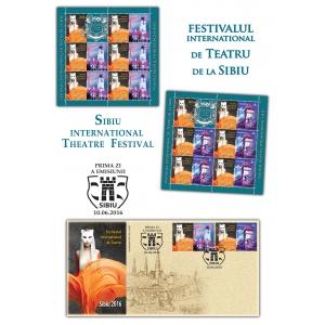 turnul mănăstirii golia. Timbrele românești te invită la Festivalul Internațional de Teatru de la Sibiu