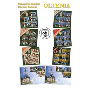 Oltenia. Timbrele româneşti te invită să descoperi Oltenia, fereastră către vremuri demult apuse
