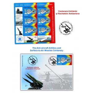 artilerie. Timbrul românesc sărbătorește un secol de artilerie şi rachete antiaeriene