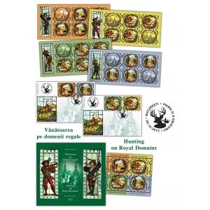 Timbrul românesc te invită la vânătoare pe domenii regale