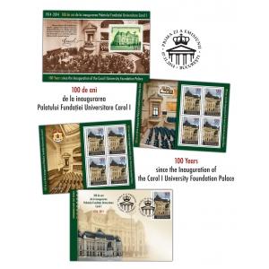 carol al ii-lea. Un secol de istorie, educație și cultură națională pe timbrele românești – Palatul Fundației Universitare Carol I