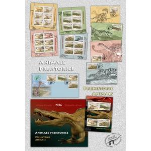 Dino Butorac. Vizitează misterioasa lume a animalelor preistorice cu ajutorul timbrului românesc