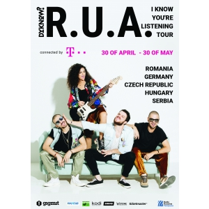 Afis R.U.A. - I know you're listening TOUR