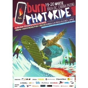 BURN Photoride - concurs de fotografie, snowboard si freeski la Balea