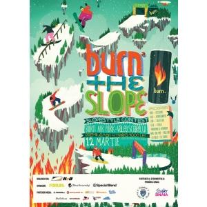 Burn the Slope - concurs de snowboard si ski la Sinaia