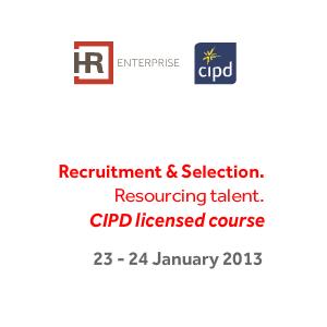 HR tools for Upturn. Cursuri scurte sub licenta CIPD in 2013