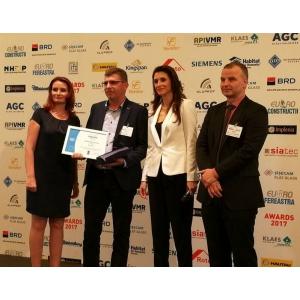 EURO-FEREASTRA: Premiile pietei de tamplarie si fatade, acordate pentru 120 de companii