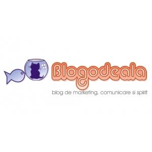 harta braconaj. Design logo blog personal BLOGODEALA