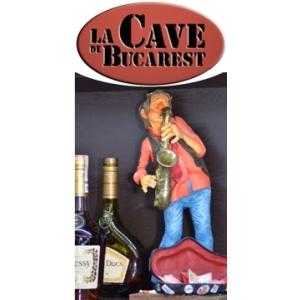 florian lungu. Banner restaurant francez La Cave din Bucuresti