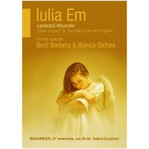 Iata de ce Iulia Em este una dintre cele mai bune voci feminine si compozitoare din Romania