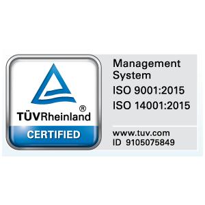 academia tuv. certificate ISO