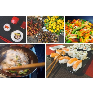 Treziti toate gusturile clientilor dumneavoastra, cu echipamentele de bucatarie asiatica!