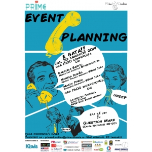 "project planning.    PR Tea & AD Cookies prezintă ""Event Planning"""