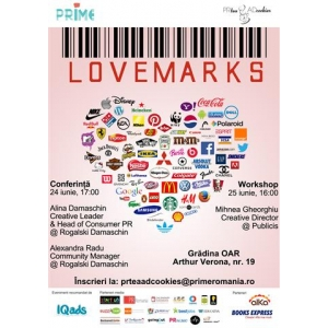 blogs   cookies.  PR Tea & AD Cookies prezinta: Lovemarks
