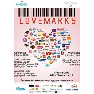 PR Tea & AD Cookies prezinta: Lovemarks