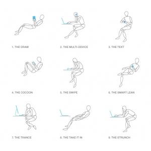 scaun ergonomic. COS prezinta Gesture, o noua experienta intr-un scaun ergonomic de birou