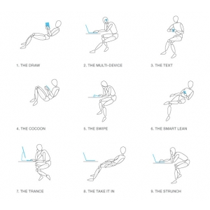 COS prezinta Gesture, o noua experienta intr-un scaun ergonomic de birou