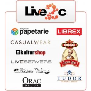 Comert ele. Solutia pentru comert electronic Live2c lanseaza primele magazine online
