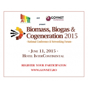 cosetice bio. Biomass, Biogas & Cogeneration 2015