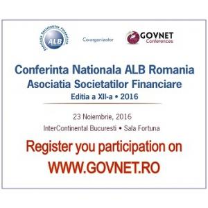 Conferinta Nationala ALB Romania - editia a XII-a