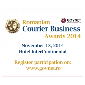 cio award 2014. Romanian Courier Business Awards 2014