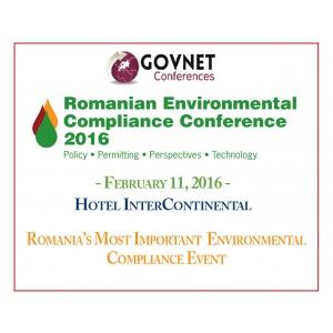 Romanian Environmental Compliance Conference 2016