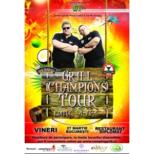 grill society. Afis eveniment Grill Champions Tour VI - Meniu Caraibian