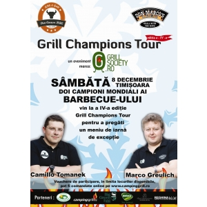 preparate la grill. Grill Champions Tour IV in 8 Decembrie, la Timisoara