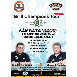 grillsociety. Timisoara, 8 Decembrie - Grill Champions Tour IV
