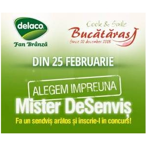cascaval. Din 25 Februarie, înscrie-te şi tu la Mister DeSenvis 2014!