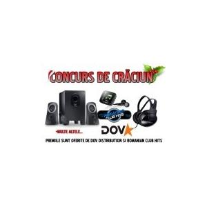 dov. DOV Distribution organizeaza in colaborare cu Romanian Club Hits un super concurs