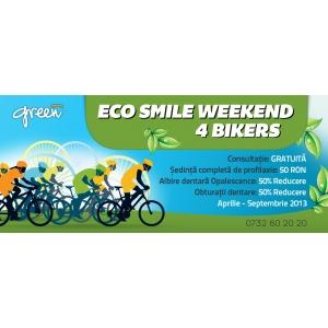 Green Dental da startul campaniei ECO SMILE WEEKEND 4 BIKERS