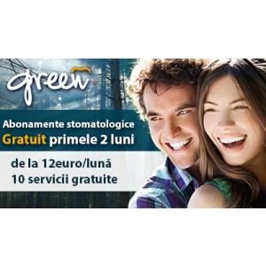Promotia la abonamentele stomatologice Green Dental s-a prelungit pana la data de 15 februarie