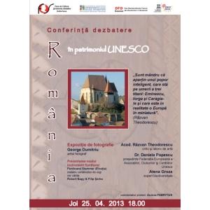 UNESCO. Conferinta  dezbatere