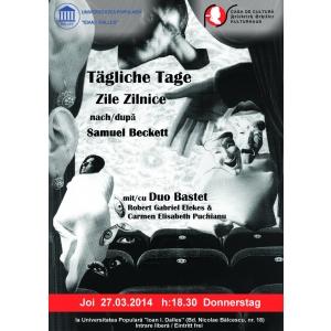 Samuel Mutzner. Teatru in limba germană: