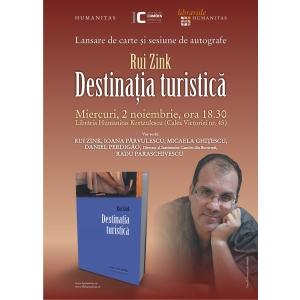 """Scriitorul portughez Rui Zink isi lanseaza romanul """"Destinatie turistica"""" la Bucuresti"""